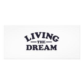 Living the Dream 10 Cm X 23 Cm Rack Card
