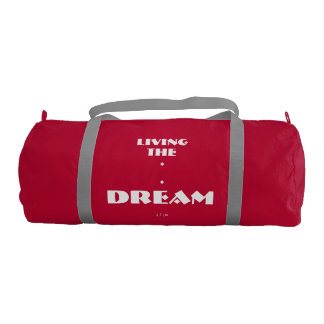 """Living The Dream"" Duffel Bag"