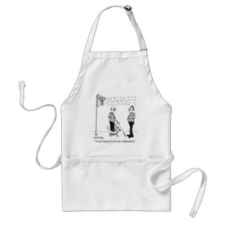 Living Up to Fan Expectations Apron
