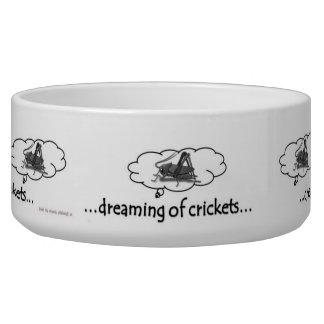Lizard Dreams Water Bowl Dog Food Bowl