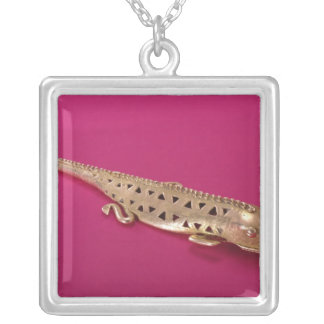 Lizard, from Colombia Silver Plated Necklace