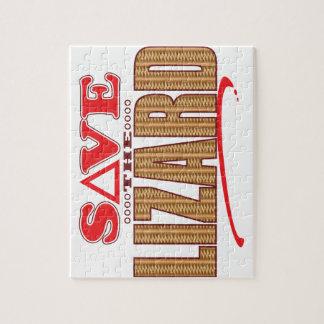 Lizard Save Jigsaw Puzzle
