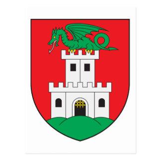 Ljubljana Coat Of Arms Postcard