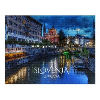 Ljubljana Postcard
