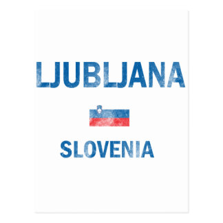 Ljubljana Slovenia Designs Postcard