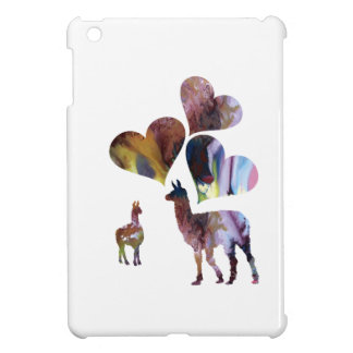 Llama art case for the iPad mini
