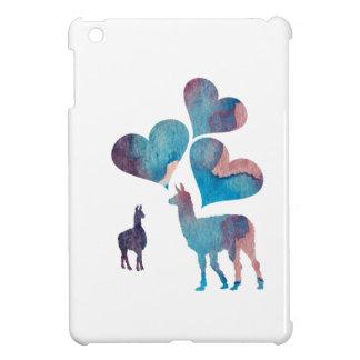 Llama art iPad mini case