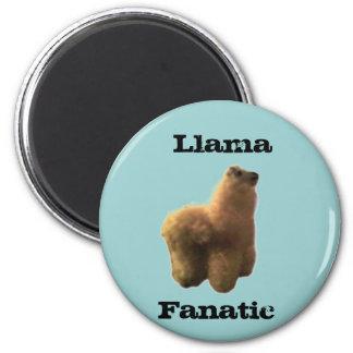 Llama Fanatic Fridge Magnets