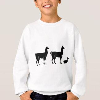 Llama, Llama, Duck Sweatshirt