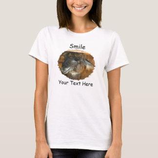 Llama Smile Cute Animal T-Shirt