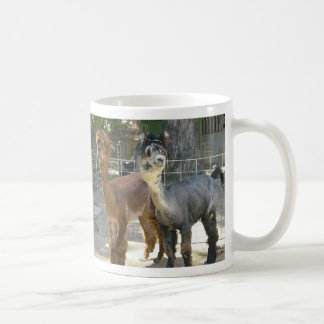 Llamas Basic White Mug