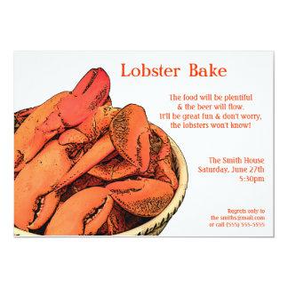 Lobster Bake or Feast Invitation