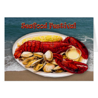 Lobster & Clams Seafood Festival Card