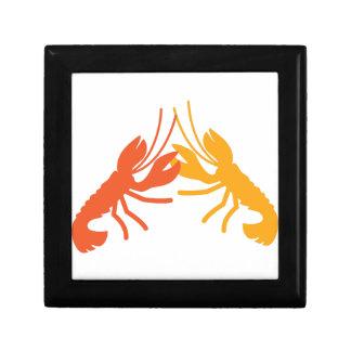 LOBSTER crayfish fighting Gift Box