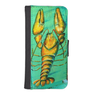lobster iphone wallet case
