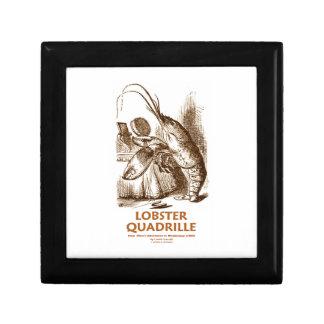 Lobster Quadrille (Brush Mirror Wonderland Humor) Gift Box