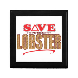 Lobster Save Gift Box
