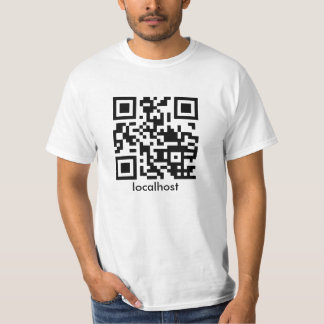 Localhost QR Code T-Shirt