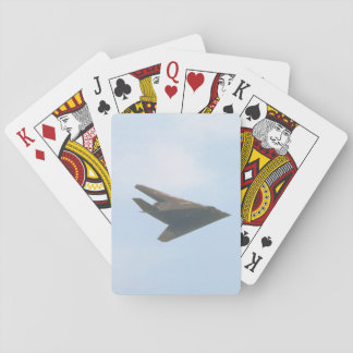 Lockheed F-117A Nighthawk_Aviation Photography Playing Cards