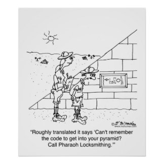 Locksmith to the Pharaohs Poster