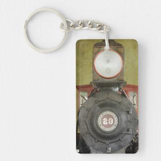 Locomotive Works Single-Sided Rectangular Acrylic Key Ring