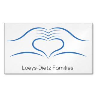 Loeys-Dietz Awareness Business Magnets Magnetic Business Cards