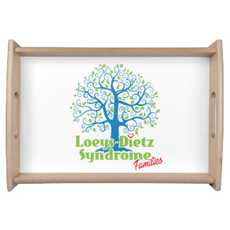 Loeys-Dietz Large Serving Tray