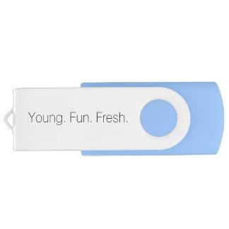 Logo 8GB USB Swivel USB 2.0 Flash Drive