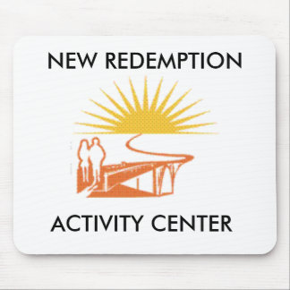 logo-new, NEW REDEMPTION , ACTIVITY CENTER Mouse Pad