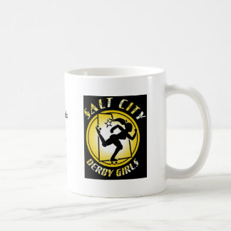 logo, Rubbing Salt in Open Woundswww.saltcityde... Basic White Mug