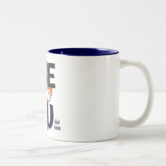 Logo Two-Tone Coffee Mug