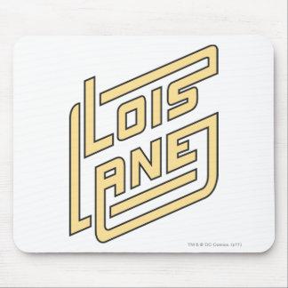 Lois Lane Logo Mouse Pad
