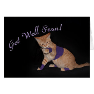 Loki's Get Well Wishes Card