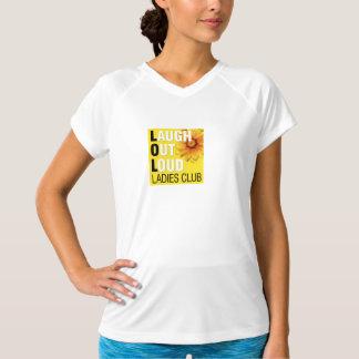 LOL Ladies Club T-shirt - Wicking V-Neck