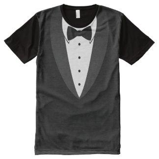 LOL T-shirt: Black Tie Tuxedo All-Over Print T-Shirt