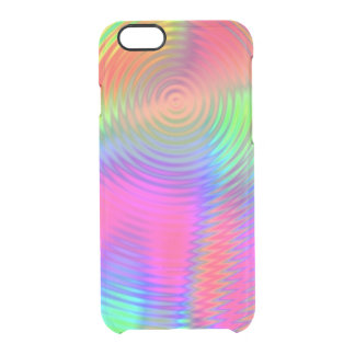Lollipop Ripples Clear iPhone 6/6S Case