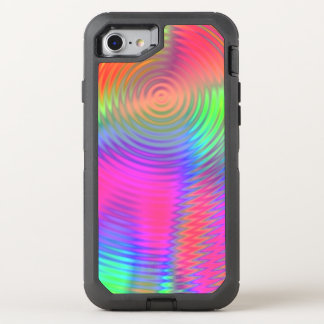 Lollipop Ripples OtterBox Defender iPhone 8/7 Case