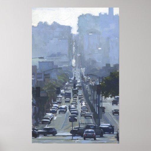 Lombard San Francisco Poster