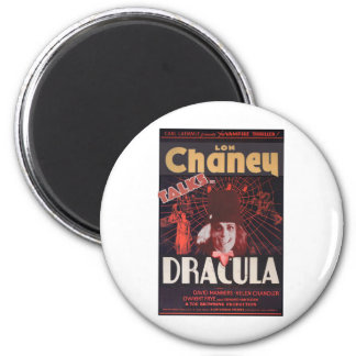 Lon Chaney as Dracula Magnet