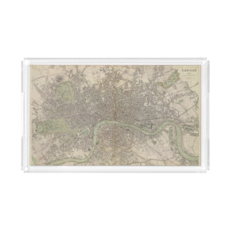 London 1843 acrylic tray