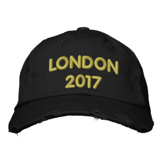 LONDON 2017 EMBROIDERED HAT