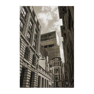 London architecture. acrylic print