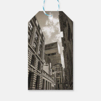 London architecture. gift tags