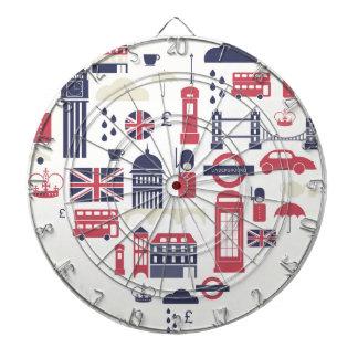 London at Heart Dartboard