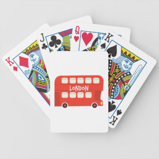London Bicycle Playing Cards
