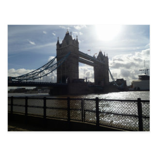 London Bridge Sun Postcard
