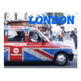 London Cab Post Cards