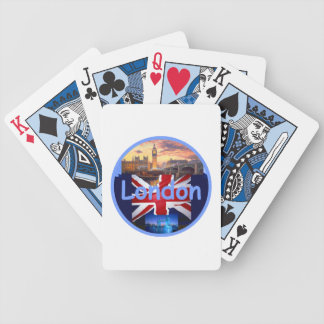 LONDON England Bicycle Playing Cards