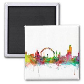 London England Skyline Magnet