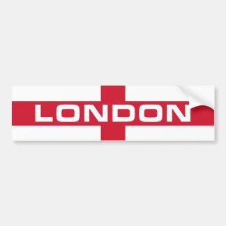 London Flag Bumper Sticker
